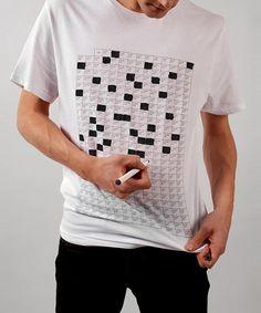 Gör något unikt med t-shirten